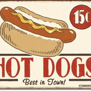 Schonberg - Hot Dog Tin Sign