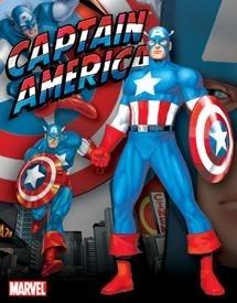 Captain America Tin Sign