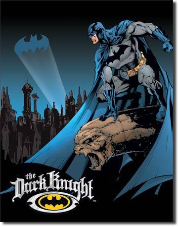 Batman The Dark Night Tin Sign