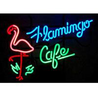 Flamingo Cafe Neon Sign