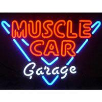 Muscle Car Garage Neon Sign