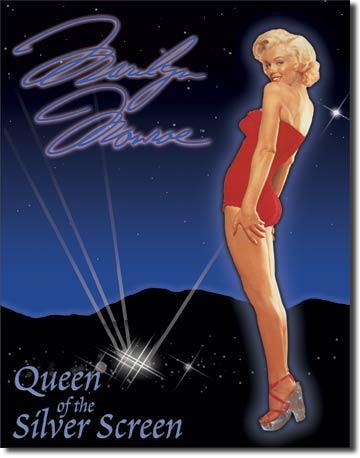 Marilyn - Queen of Screen Tin Sign