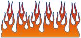 FLA-005 - Flame Decal