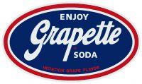 """Enjoy Grapette Soda -12"""" x 14"""""""