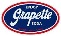 "Enjoy Grapette Soda -12"" x 14"""