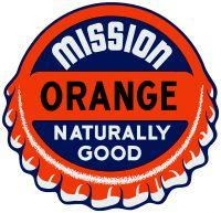 "Mission Orange Decal - 7.75"" x 8"""