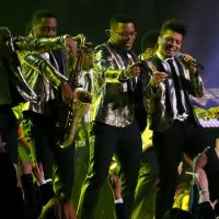 Did Bruno Mars Kill It or What? Now, Let's Meet the Band