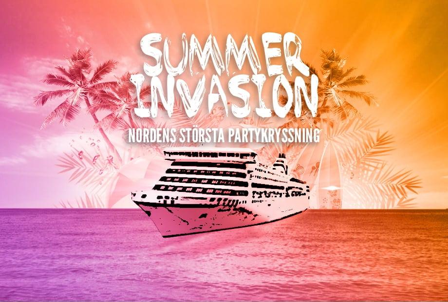 Summer Invasion Partykryssning FestKryssning Studentkryssning