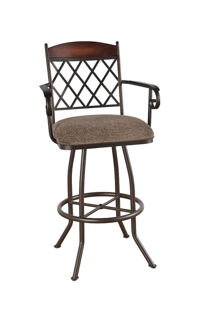 Callee Madison Swivel Stool For Tuscan Style Kitchens Free Shipping