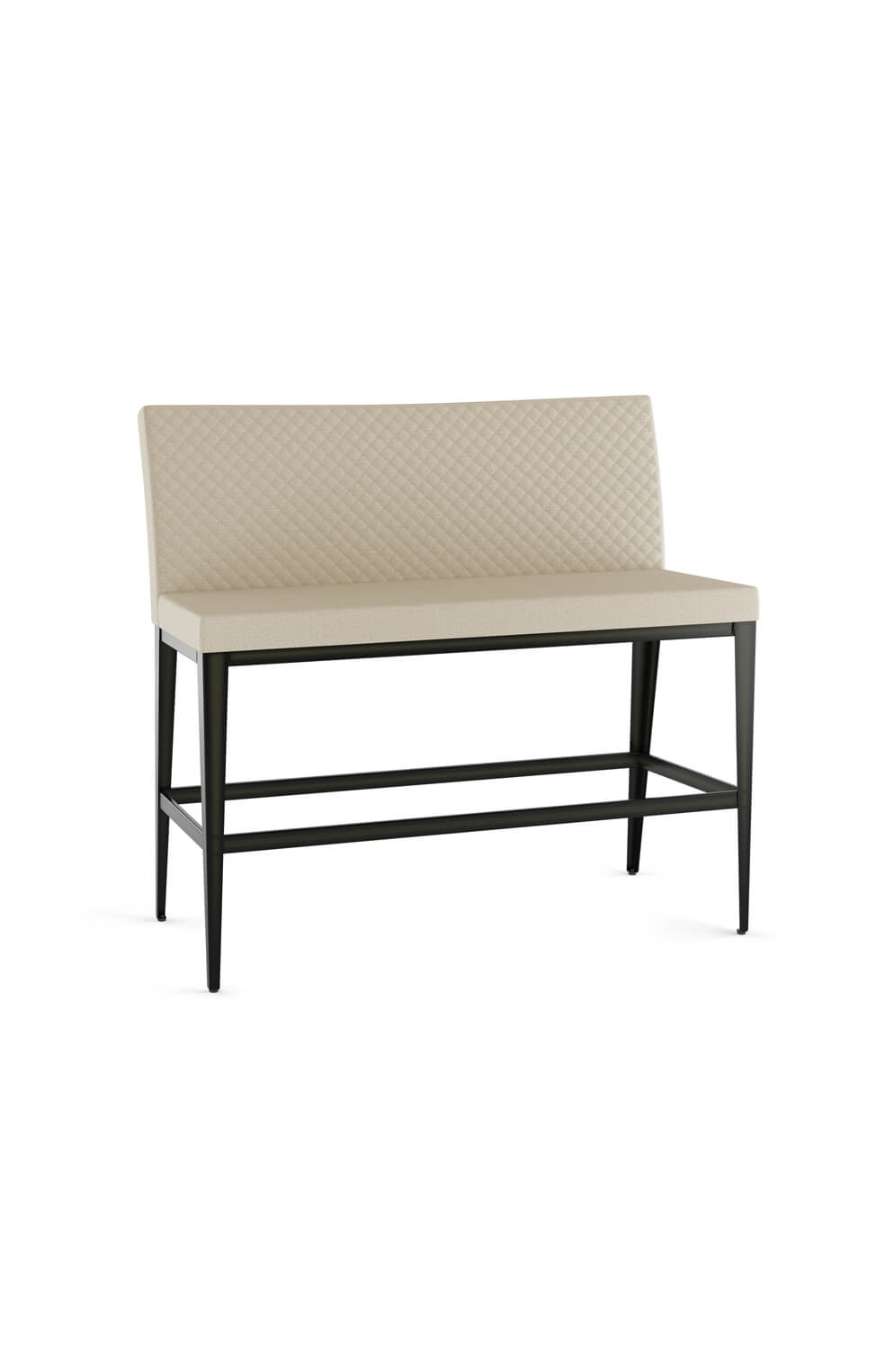 Amisco S Pablo Quilted Upholstered Bar Stool Bench Barstool Comforts
