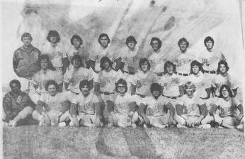 1977 Baseball Team