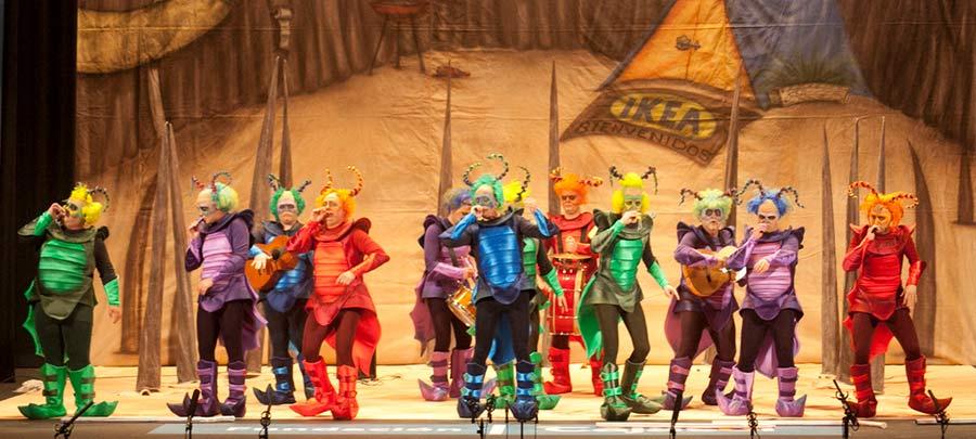 carnaval in seville