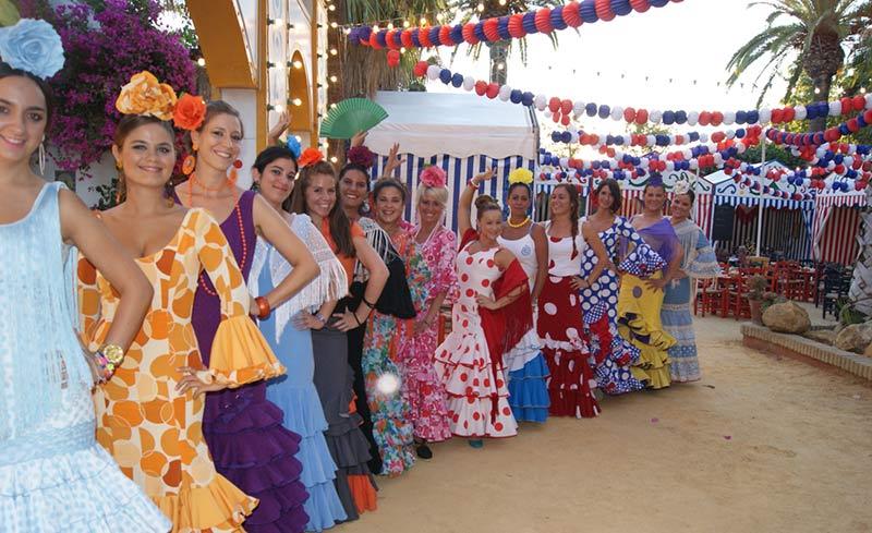 visitar la feria de abril flamenca