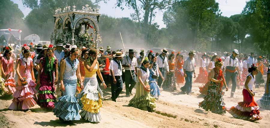 virgin rocio pilgrimage