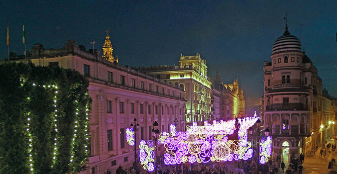 luces navidad en sevilla