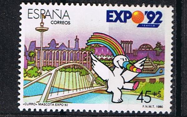 expo de sevilla 92 sello