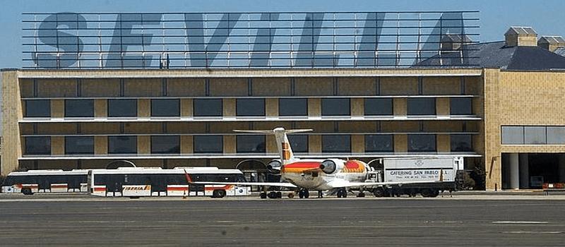 aeropuerto sevilla en 2018