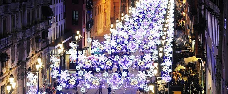 alumbrado sevilla en navidad