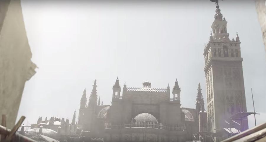 catedral sevilla en la peste