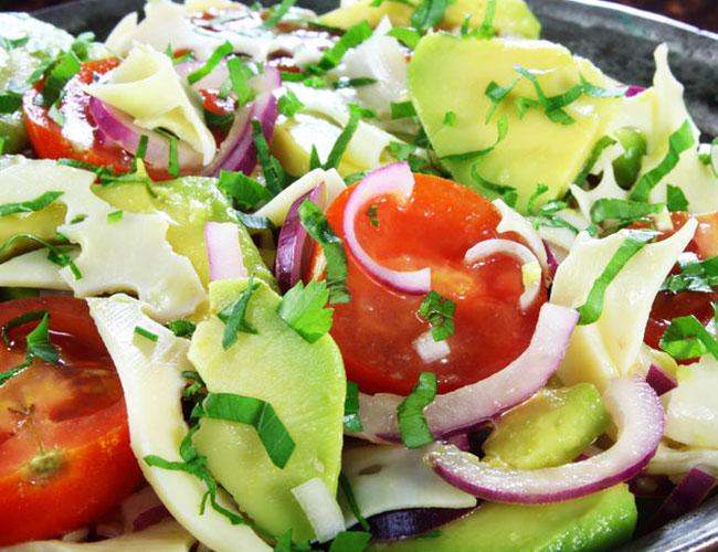 ensalada vegana en sevilla