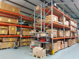 A snapshot of Bartech's Warehouse. Many diesel engine spares held in stock, contact us with your requirements.
