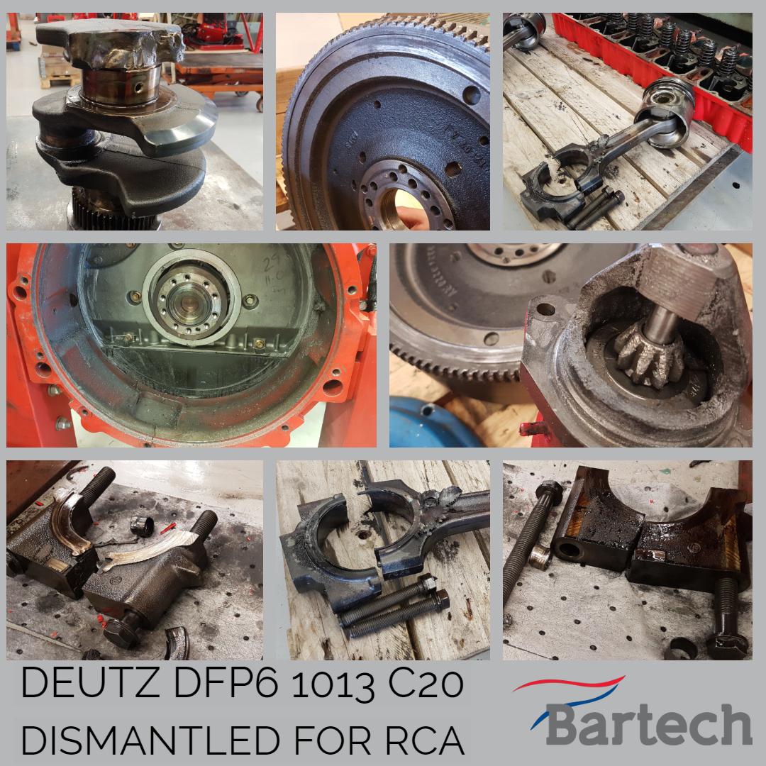 Deutz DFP6 1013 C20 Dismantled for RCA