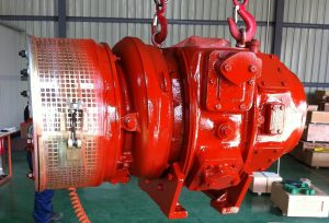ABB VTR251 Turbocharger under painting