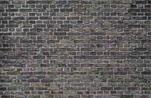 brick, wall, old