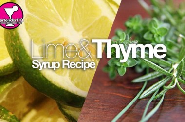lime-and-thyme-syrup
