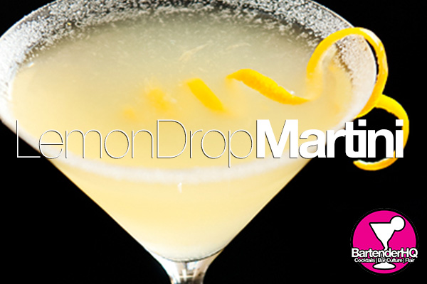 Lemon Drop Martini Cocktail Recipe