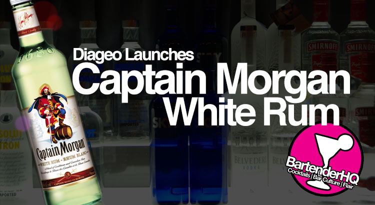 Captain Morgan White Rum from Diageo Launches