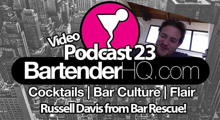 Russell Davis from Bar Rescue on the Podcast!
