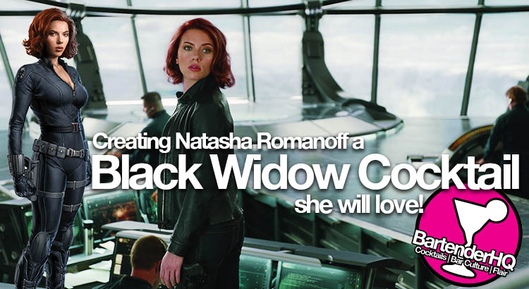 Black Widow Cocktail – Age of Ultron