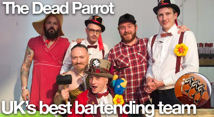 The Dead Parrot wins the title of UK's best bartending team