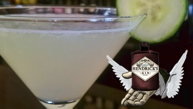 Hendricks Gin Cucumber Martini Recipe
