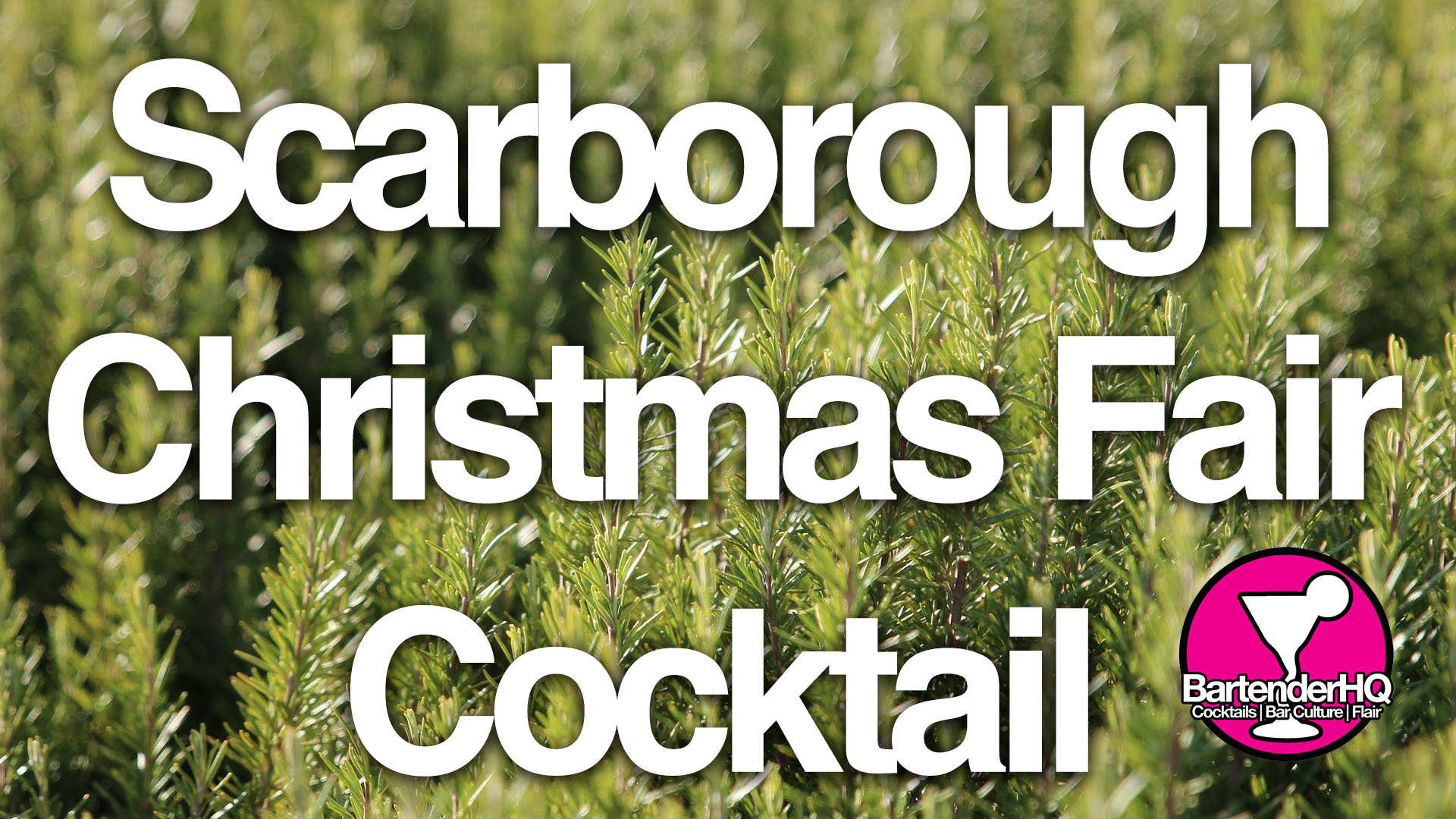 Scarborough Christmas Fair Cocktail (NUBI Competition Entry)