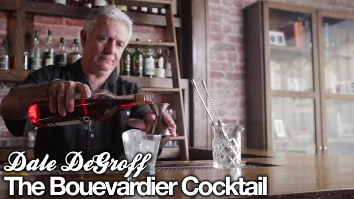 Dale DeGroff Boulevardier Cocktail