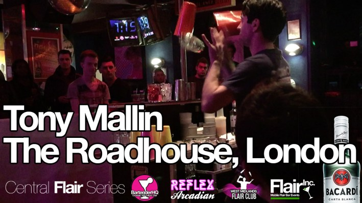 Central Flair Series Tony Mallin Roadhouse Bartender