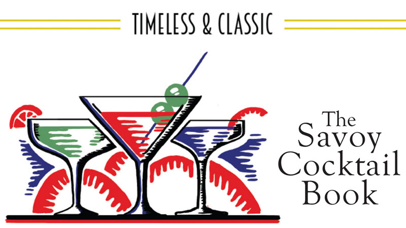 The Savoy Cocktail Book: A Brief History [Infographic]