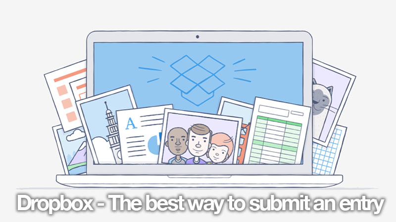 Dropbox – The best way to submit an entry for the Online Flair Competition
