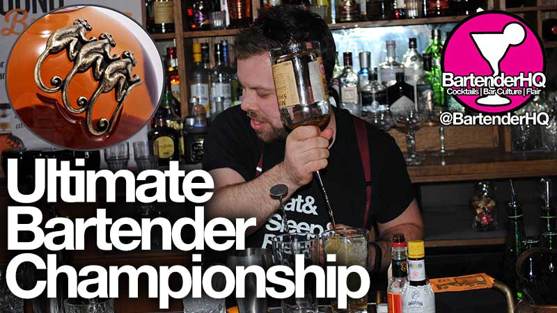 Monkeying around at the Ultimate Bartender Championship…