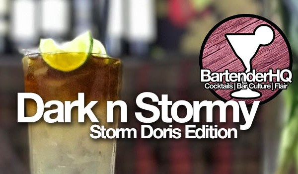 Dark n Stormy Cocktail Recipe