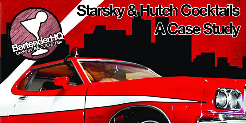 Starsky & Hutch Cocktail Menu Design – a case study.