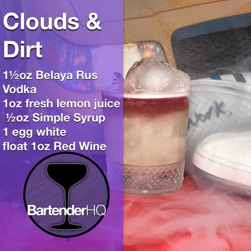 Clouds and dirt cocktail garyvee