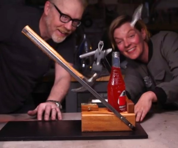 The Adam Savage Over Engineered Bottle Opener – Mythbusters Tech