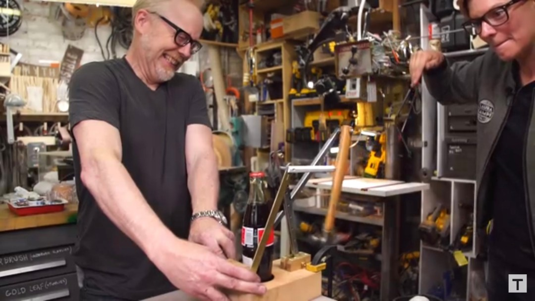 Adam savage bottle opener