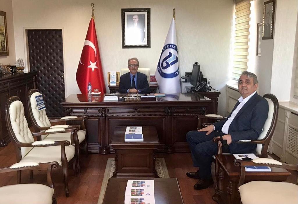 Emniyet Müdürü Bozkuş'tan Rektör Uzun'a veda ziyareti