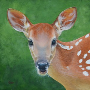 Little Fawn Painting