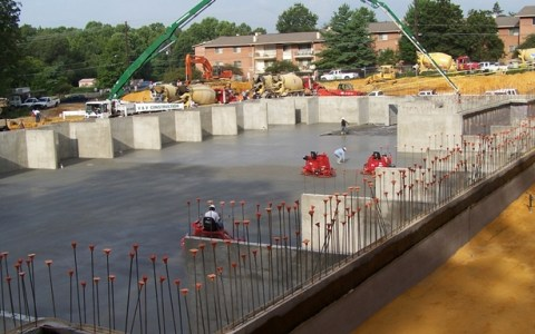 Commercial Slabs Footing Walls, Building and Site Concrete