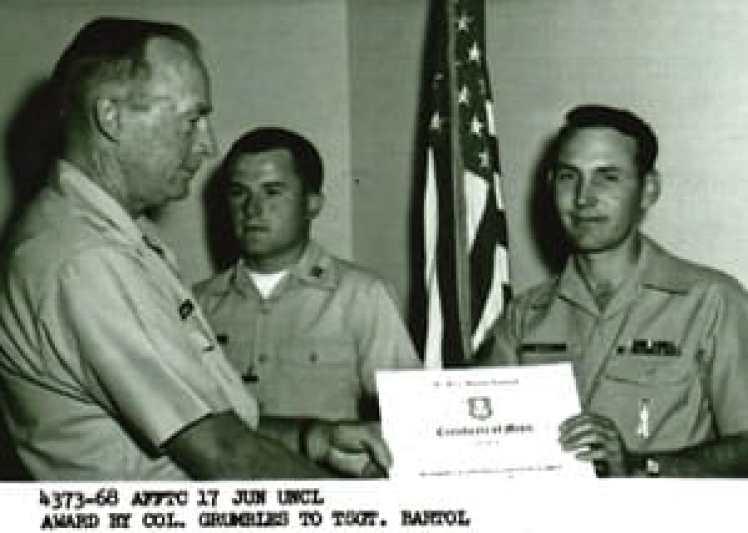 Sealed Lithium Battery Inside - Bob Bartol Military Award